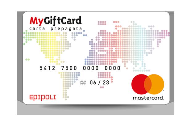 Carta prepagata Mastercard fisica e digitale
