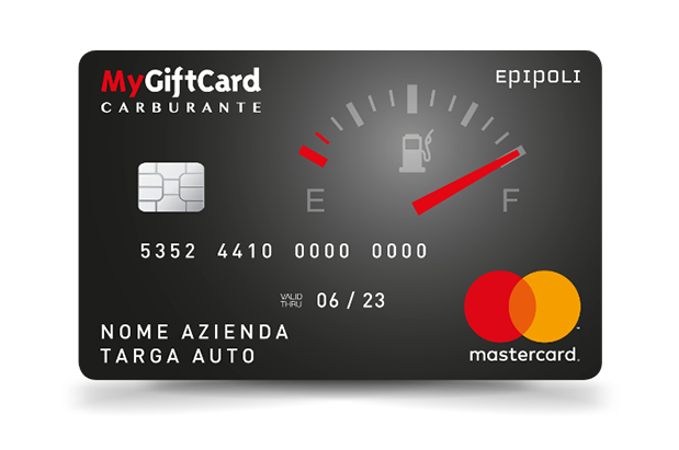 carta carburante multimarca MyGiftCard