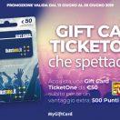 Offerta Gift Card TicketOne