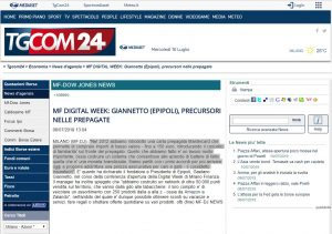 TGCom 24 - Epipoli alla MF Digital Week