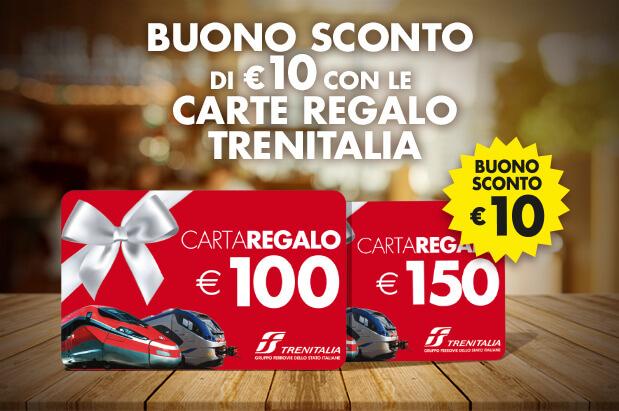 Gift Card Trenitalia Promozione Dicembre 2019