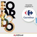 MyGiftCard e Carrefour ti portando al Leonardo 3 museum